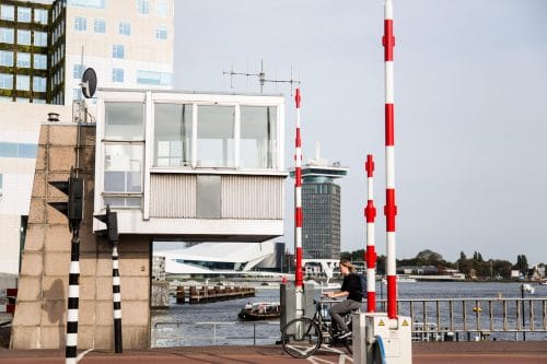 SWEETS hotel Westerdokbrug, suite over canal in Amsterdam