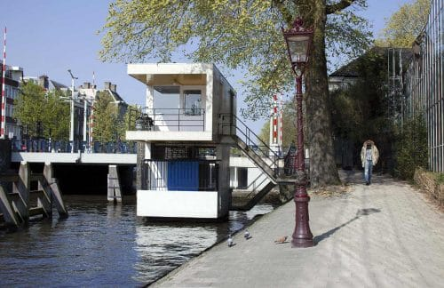 SWEETS hotel Hortusbrug bridge house on Amsterdam canals, close to Hortus Botanicus, Amsterdam Center