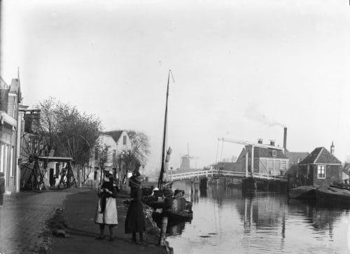 A previous version of the Wiegbrug house circa 1890