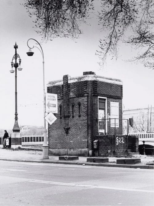 History Nieuwe Amstelbrug house in 1983